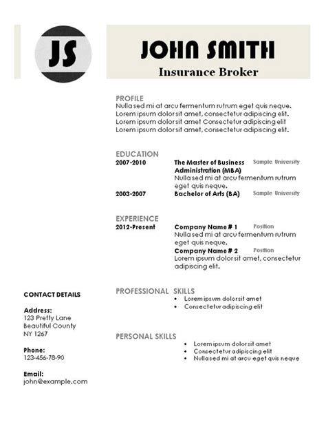 Resume Templates 101 by Resume Templates 101 Creative Resume Templates Free