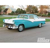 1956 Ford Victoria Steering And Brake Updates  Hot Rod