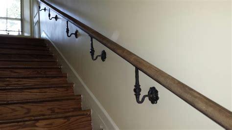 Handrail Wall Bracket Stair Rails Interior Sunset Metal Fab Inc