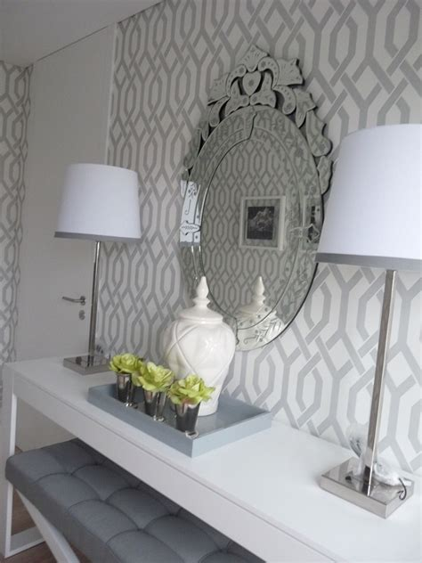 grey wallpaper hallway ideas grey and white trellis wallpaper wallpaper inspiration