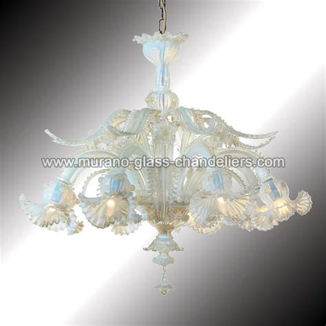 primavera 8 lights murano glass chandelier murano glass quot barbarigo quot 8 lights opal and gold murano glass chandelier murano glass chandeliers