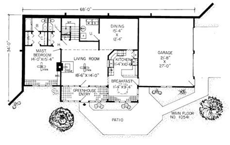 earth bermed home plans earth sheltered homes floor plans earth contact home