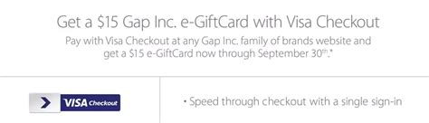 Gap E Gift Card - expired repost 13 moneymaker free 15 gap e gift with any gap purchase paid with