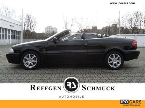 2002 volvo c70 convertible 2 4t premium air leather e folding car photo and specs
