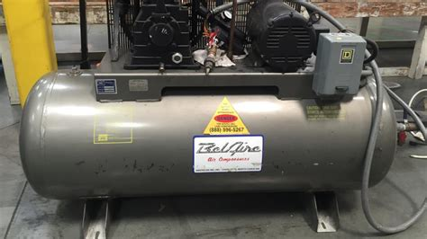 10 hp air compressor price quincy q235 3 phase air 216856 for sale used