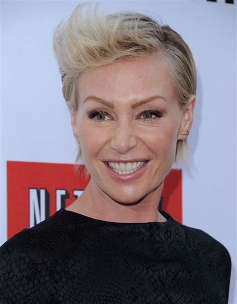 portia de rossi hairstyles short 2013 hairstyle more pics of portia de rossi fauxhawk 9 of 22 short