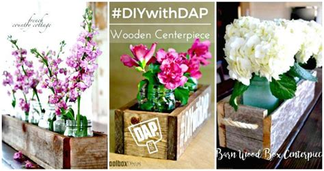 36 diy wooden box centerpiece ideas tutorials diy