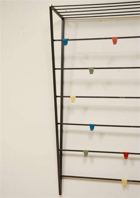 Wall Mount Coat Rack With Shelf by Coen De Vries Wall Mount Coat Rack With Hat Shelf At 1stdibs