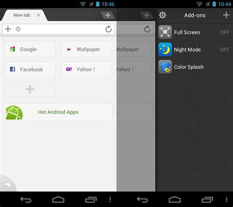 dolphin jetpack apk los 5 navegadores web r 225 pidos el androide libre