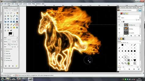 tutorial the gimp 2 8 gimp tutorial fire effect youtube