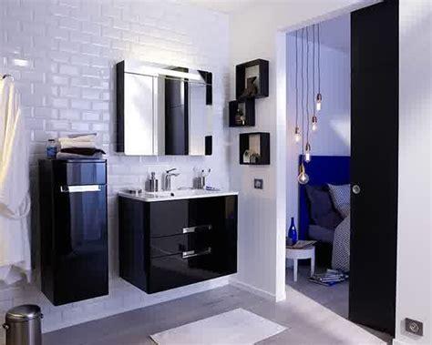 meuble salle de bain gain de place castorama salle de