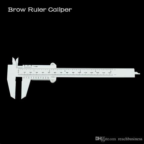 Brow Ruler A microblading eyebrow measuring permanent makeup brow ruler caliper 10 pack brow ruler
