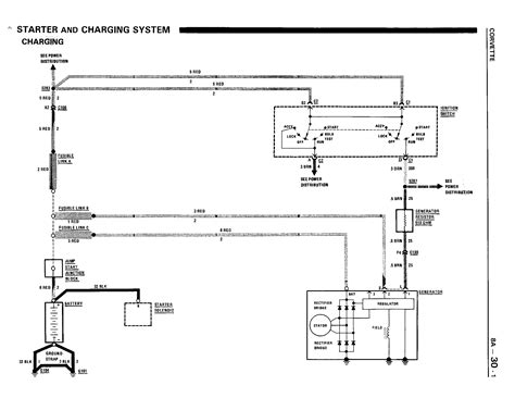 alternator wiring diagram corvetteforum chevrolet