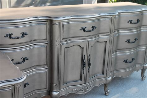 how to faux paint furniture silver furniture my most talked about finish the magic