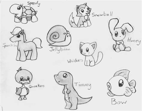 doodle draw animals animal drawing pinteres