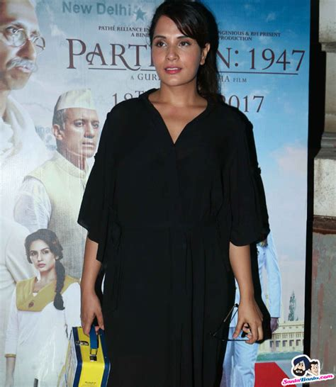 richa chadda pakistan screening of partition 1947 movie richa chadda picture