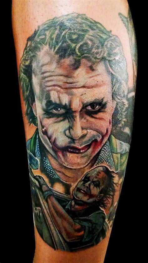 joker tattoo farmville va heath ledger joker by greyfoxdie85 on deviantart