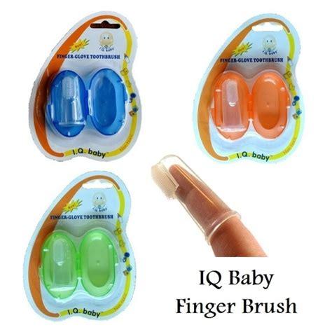 Iq Baby Baby Food Container iq baby finger toothbrush sikat gigi jari untuk bayi