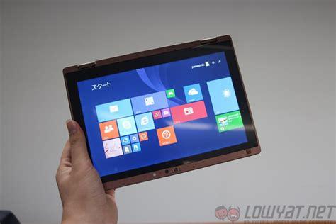 Laptop Panasonic Lets Note Cf S9 look panasonic let s note cf rz4 the 745g hybrid laptop lowyat net