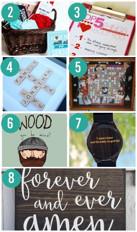 Wedding Anniversary Gift Ideas Wood by Ideas For Wedding Anniversary Gifts By Year The Dating Divas