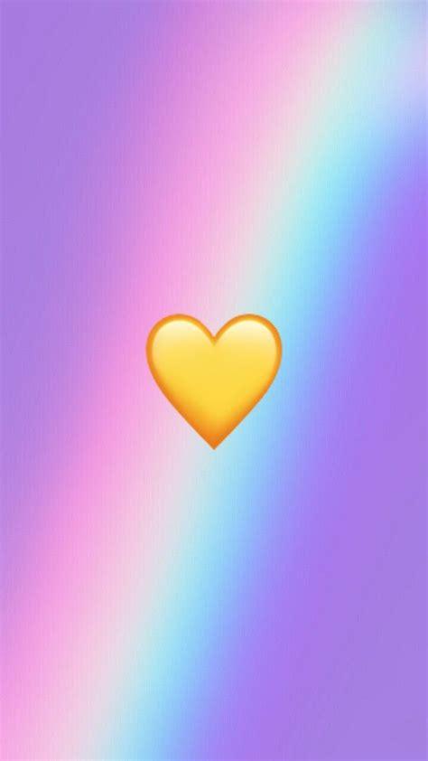 wallpaper iphone iphone heart emoji wallpaper