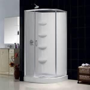 Menards Bathroom Faucets by Dreamline Sparkle Clear Glass Enclosure 32x32 Inch Base