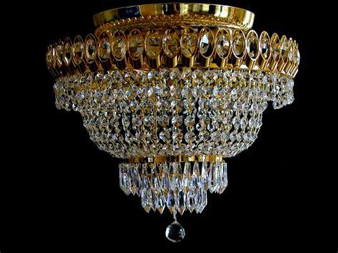 kronleuchter ohne kette goldfarbener decken kronleuchter mit echtem blei kristall