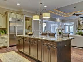Large Custom Kitchen Islands Terrific Drum Shade Ceiling Lights Large Kitchen Island With Grey Wood Painted Added