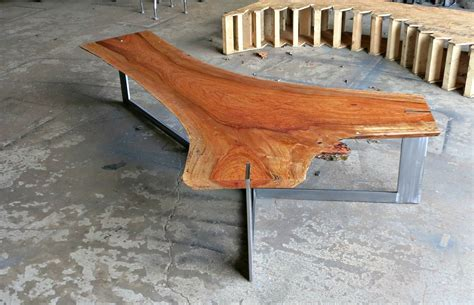 live edge coffee tables live crafted jatoba live edge coffee table by donald mee