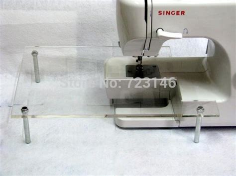 sewing machine extension table new singer sewing machine high quality acrylic extension