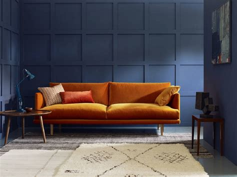orange sofas living room beautiful burnt orange living room ideas homegirl
