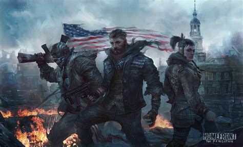 homefront  revolution artwork  hd games