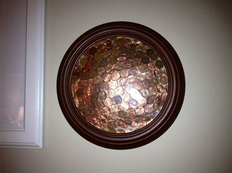 framed flowers on copper sheet craft ideas pinterest 17 best images about penny art on pinterest recycling