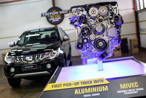 used mitsubishi diesel engines for sale mitsubishi s new triton with mivec turbo diesel engine