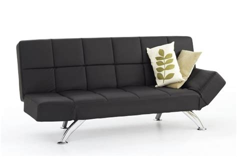 venice faux leather sofa suite sette sofabed serene venice black faux leather sofa bed by serene