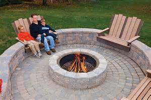 Patios With Fire Pits by Best Outdoor Fire Pit Seating Ideas Designrulz