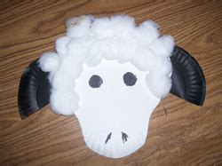 How To Make A Paper Sheep - paper plate sheep project thi
