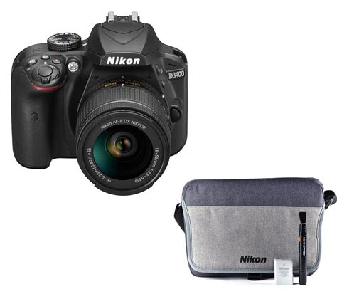 nikon dslr deals nikon d3400 dslr with 18 55 mm f 3 5 lens