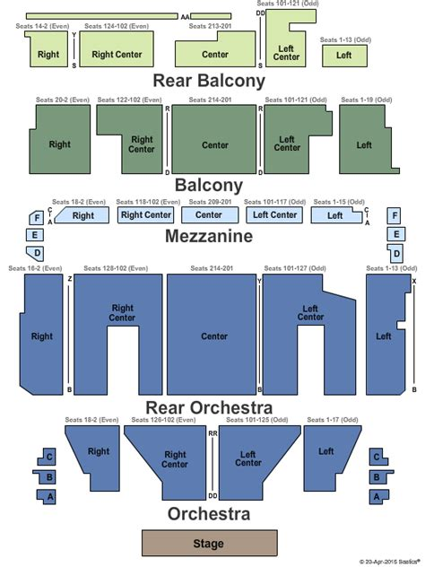 orpheum theatre boston seating plan concert venues in boston ma concertfix