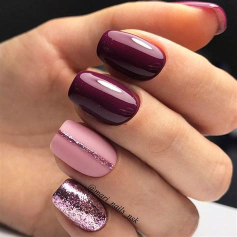 whats new in nail styles 45 must try fall nail designs and ideas makeup manicure