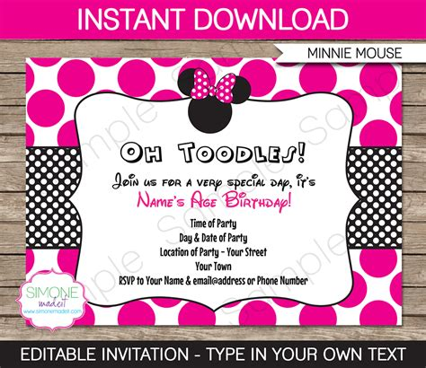 editable birthday invitation cards templates editable birthday invitation template various invitation
