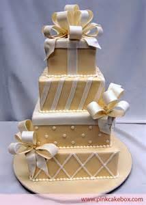 christmas holiday gift box wedding cake ribbon and loopy bow