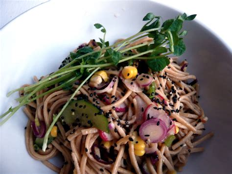 whole grain udon noodles summer whole wheat udon noodle salad with tempeh chaplin
