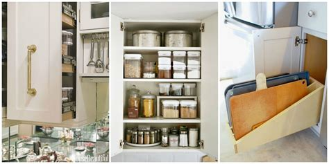 Kitchen Cabinets Organization Ideas Organizing Kitchen Cabinets Storage Tips For Cabinets
