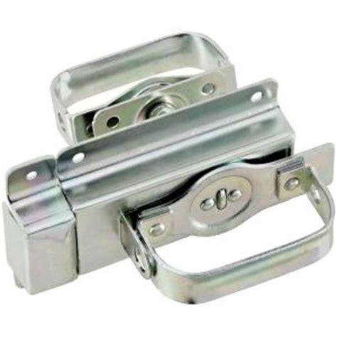 national hardware zinc plated swinging door latch