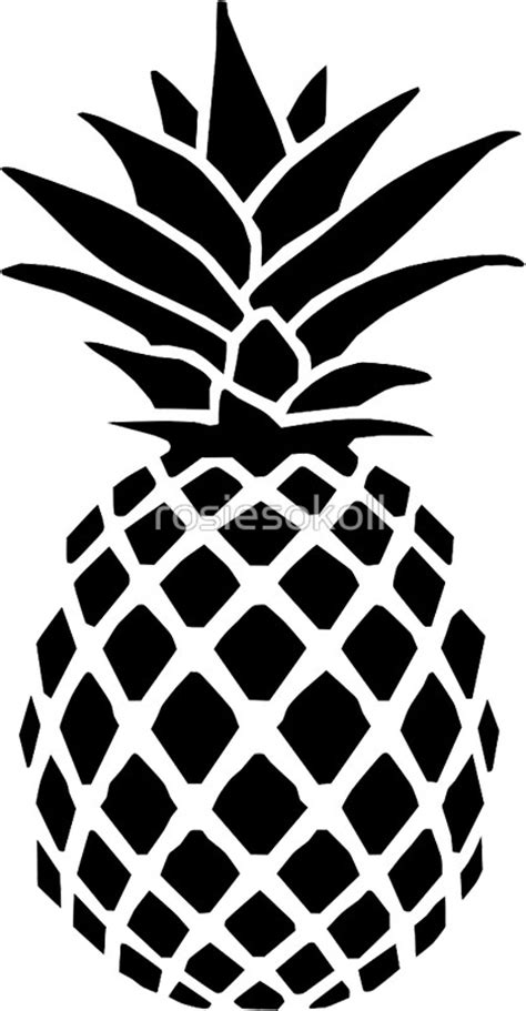 Pineapple Clipart Black And White black and white pineapple clipart www pixshark images galleries with a bite