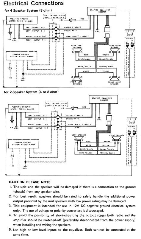 Help Wiring A 79 Am Fm To A Power Booster Equalizer