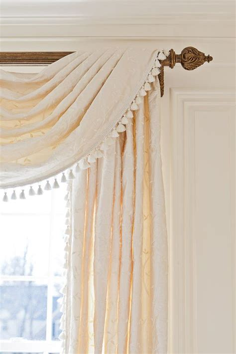 curtains with fringe trim 599 best images about well dressed windows textiles