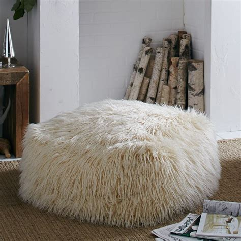 faux fur pouf ottoman 162 best images about unusual homeware interiors on