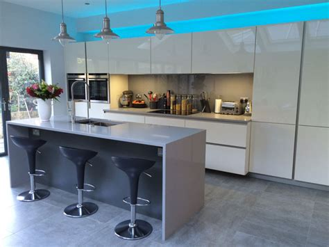 German Kitchen Design German Kitchens By Design White Gloss German Kitchen For A Customer In